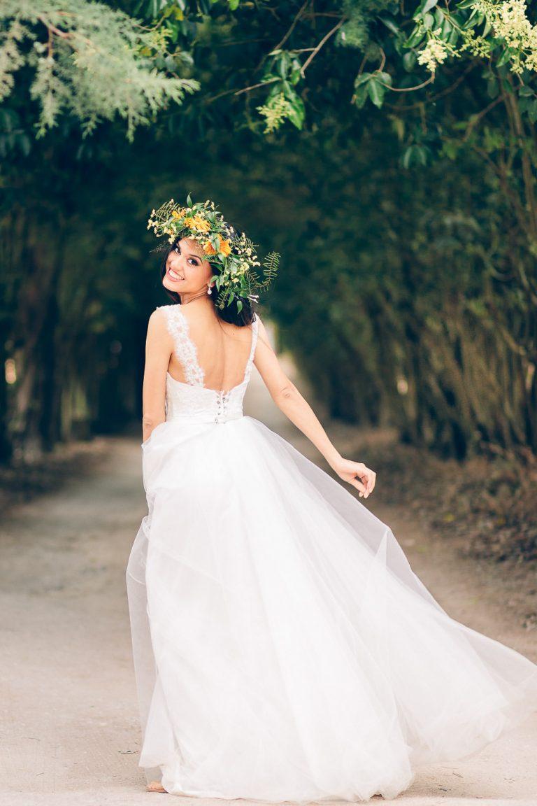 elopement boho quinta de alcube noiva pronta para casar